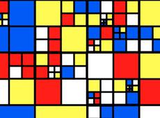 Recursive Mondrian